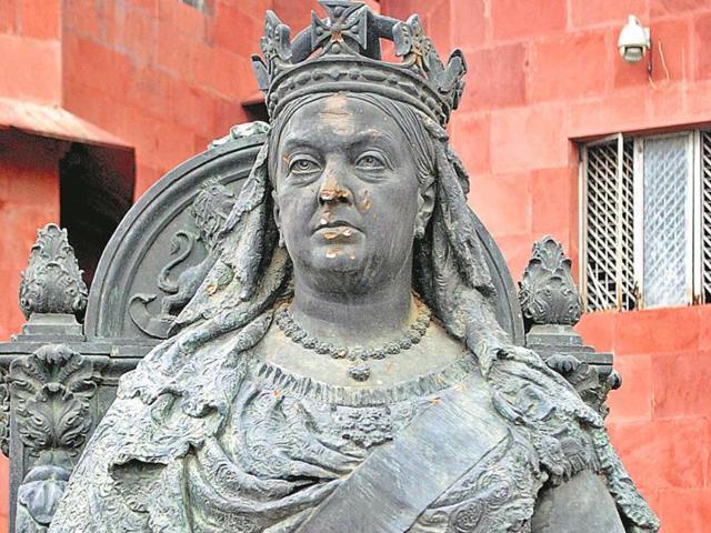 Mathura museum incident,statues of Queen Victoria,Queen Victoria statue damaged