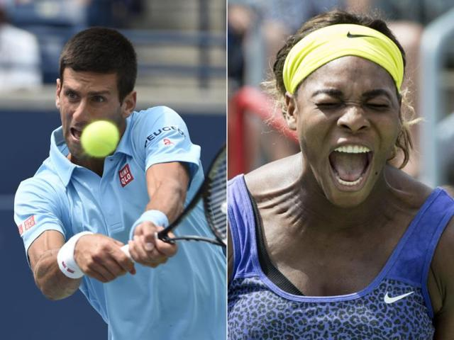 Novak Djokovic,Serena Williams,Cincinnati Masters