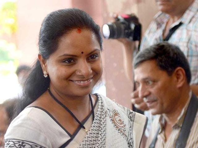 sedition charges on Kavitha,south Zone police,K Chandrasekhar Rao