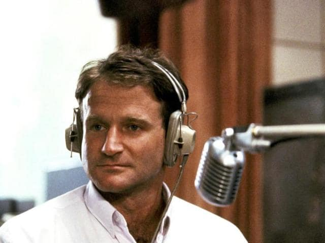 This 1987 file photo released by Touchstone Pictures shows actor Robin Williams in character as disc-jockey Adrian Cronauer in director Barry Levinsons comedy drama, Good Morning Vietnam. (AP Photo)