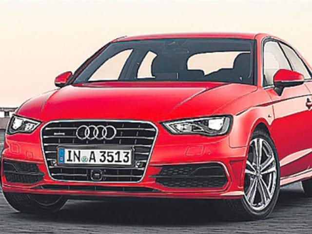 The Audi A3 hatchback