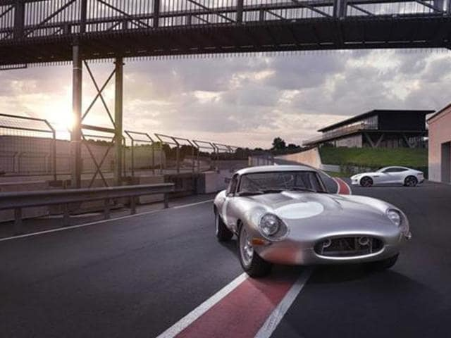 Jaguar Land Rover,new Lightweight E-Type,Jaguar unveils prototype for its upcoming lightweight E-Type