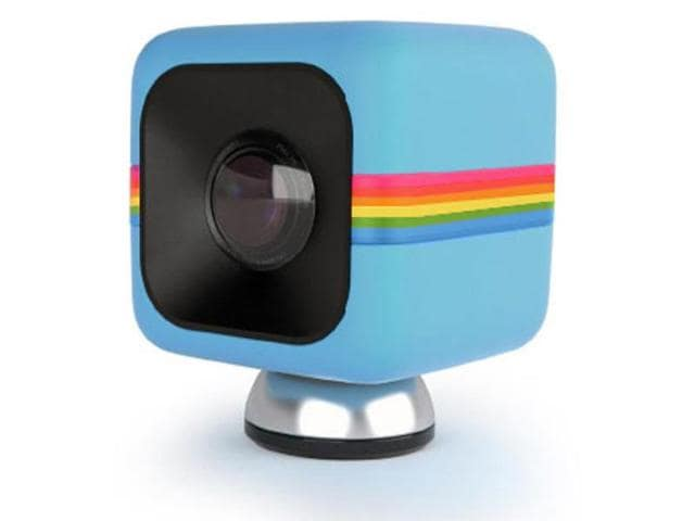 Polaroid Cube,Bluetooth,smartphone