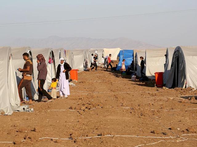 Islamic State militants,IS jihadist,Kurdish town