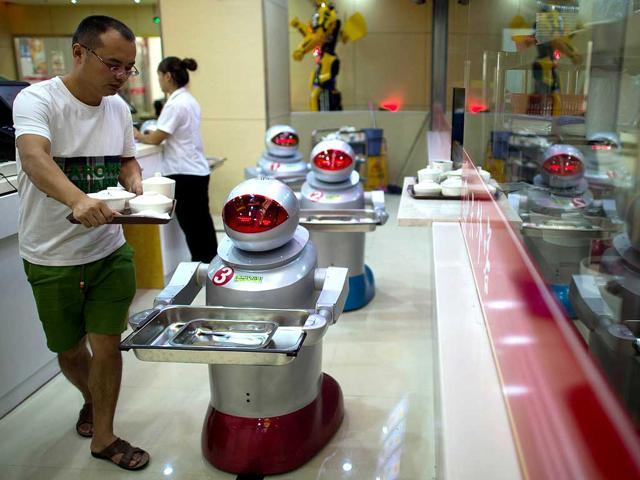 robots,China,China restaurant
