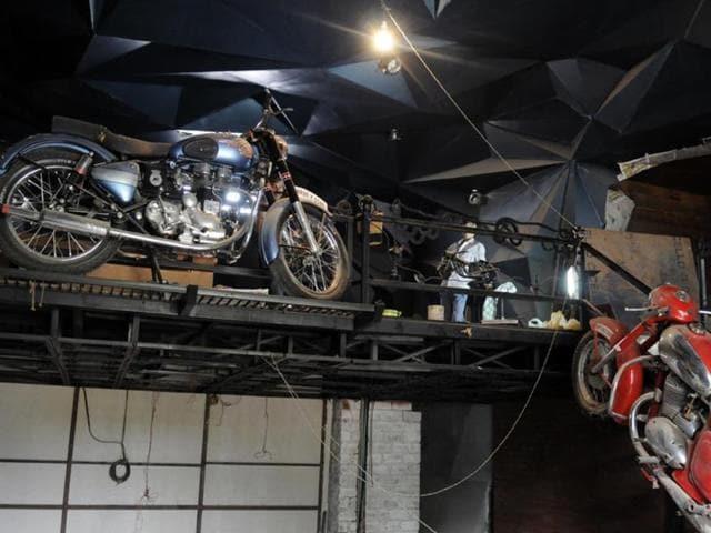 vintage bikes,bikes,Indore