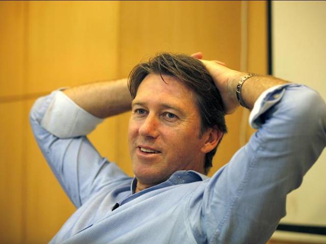 Glenn McGrath,HT,India