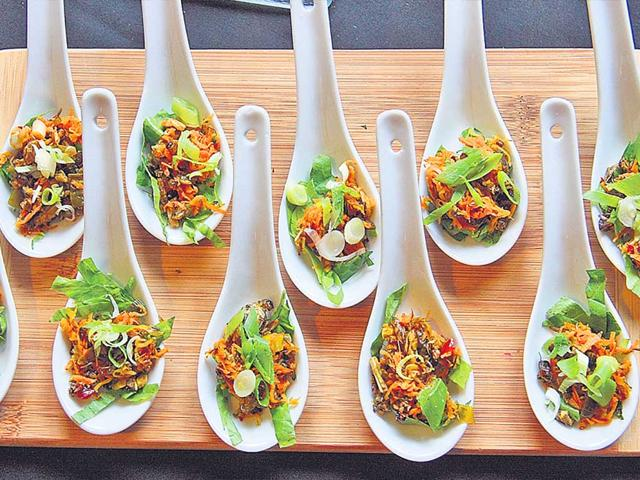 Crickets-prepared-with-spices-like-galangal-lime-leaves-lemon-grass-and-Thai-basil-by-chef-Cookie-Martinez-Photo-Courtesy-Han-Zhang-Han-Studio