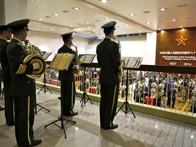 A-People-s-Liberation-Army-PLA-military-band-performs-during-a-reception-in-Hong-Kong-The-PLA-is-the-world-s-largest-standing-military-with-2-3-million-members-AP-Photo