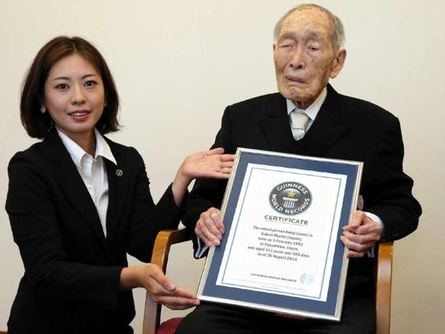 Sakari-Momoi-R-gets-recognised-as-the-world-s-oldest-living-man-by-the-Guinness-World-Records-in-Tokyo-on-Wednesday-AFP-Photo