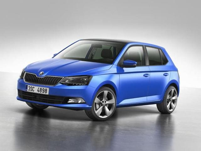 Skoda-has-unveiled-the-first-official-image-of-the-new-Fabia-ahead-of-the-car-s-world-premiere-at-the-2014-Paris-Motor-Show-Photo-AFP