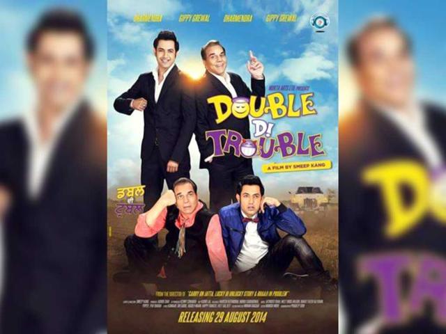 Dharmendra,Punjabi film,Double Di Trouble