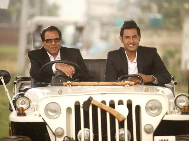 Gippy Grewal,Double Di Trouble,Dharmendra