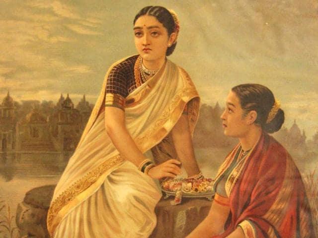 One-of-Raja-Ravi-Varma-s-many-paintings