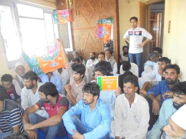 The-Art-and-Culture-cell-of-BJP-recently-convened-a-meeting-in-Kashmir-which-was-attended-by-people-from-all-sections-of-the-society-HT-Photo