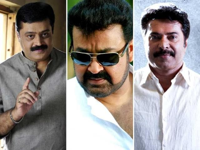The-trio-of-Malayalam-cinema-Suresh-Gopi-Mohanlal-Mammootty
