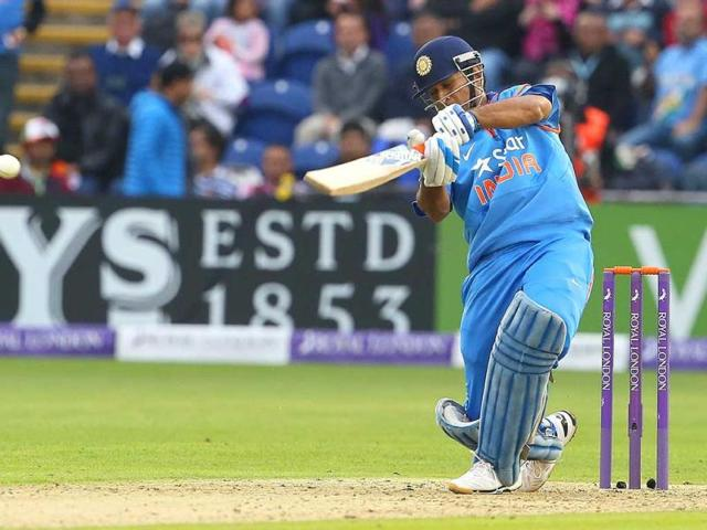 MS-Dhoni-bats-during-the-second-ODI-match-between-England-and-India-in-Cardiff-Wales-AFP-Photo