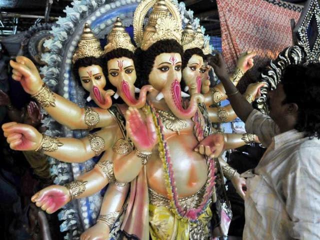 Ganesha festival,Congress,Bhopal