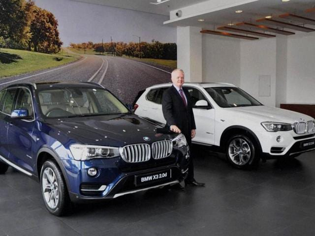 Philipp-von-Sahr-President-BMW-Group-India-at-the--launch-of-the-all-new-BMW-X3-in-Noida-on-Thursday-Photo-PTI