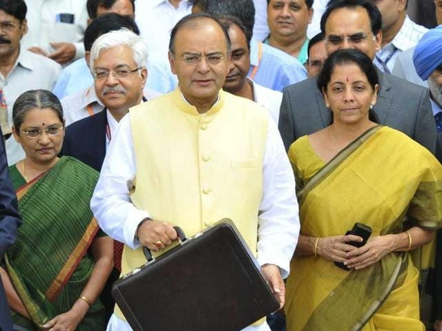 finance and defence minister Arun Jaitley