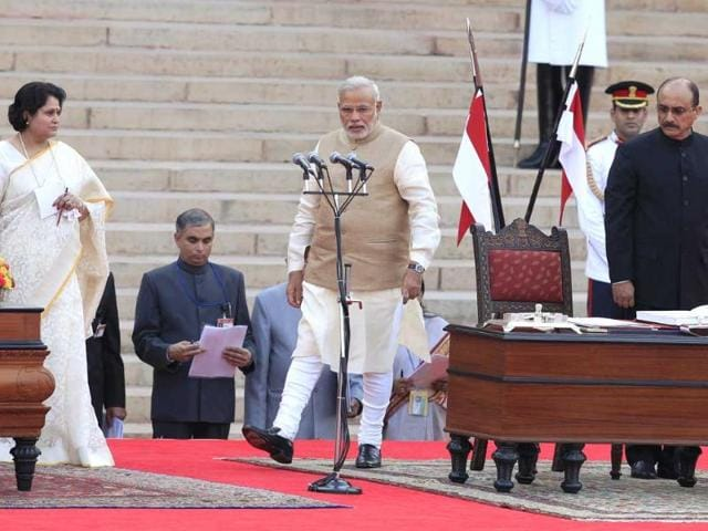 Narendra Modi,100 days of Modi govt,BJP
