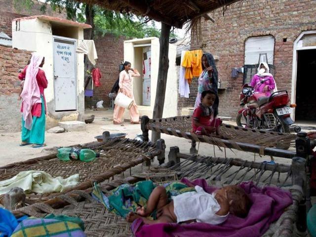 slum clusters