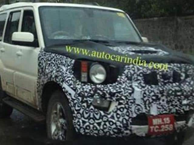 Mahindra-to-launch-Scorpio-facelift-soon