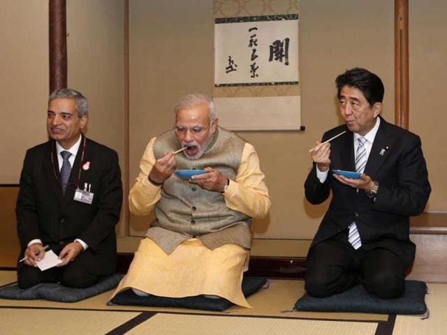 Narendra Modi,Japan visit,Shinzo Abe