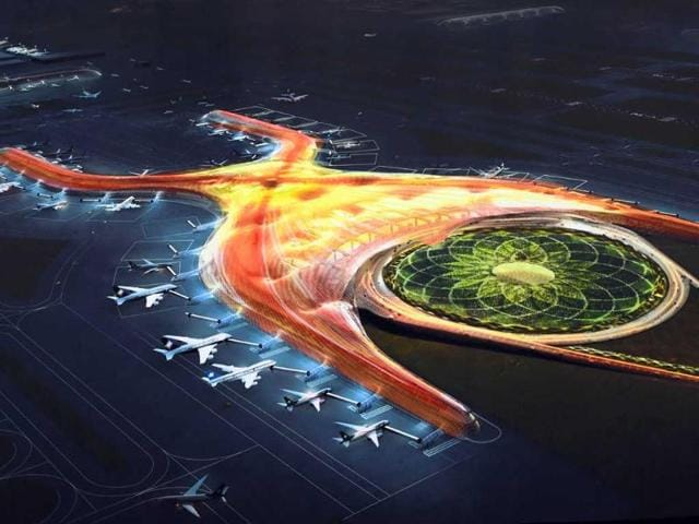 Handout-picture-released-by-the-Mexican-Presidency-showing-a-model-of-the-project-for-the-new-airport-in-Mexico-City-AFP-Photo