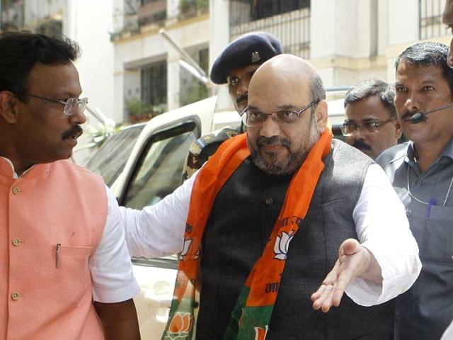 BJP chief Amit Shah,chargesheeted,hate speech