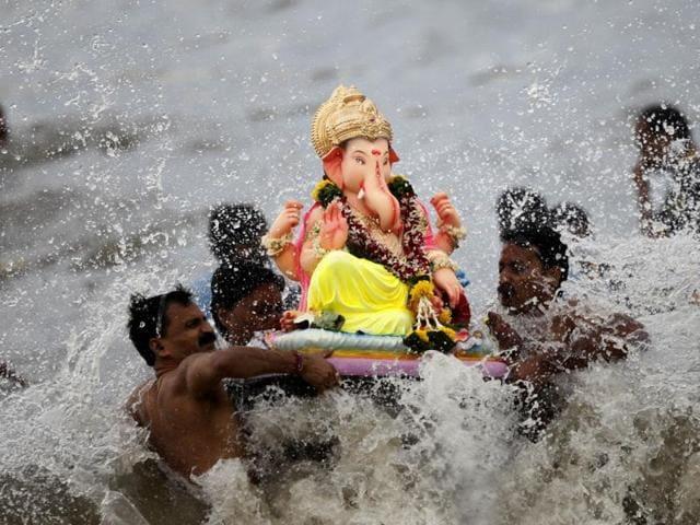 Central Pollution Control Board,Ganesh Chaturthi,Ganesh idol imersion