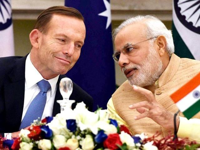Tony Abbott,Australian Prime Minister,Piyush Goyal