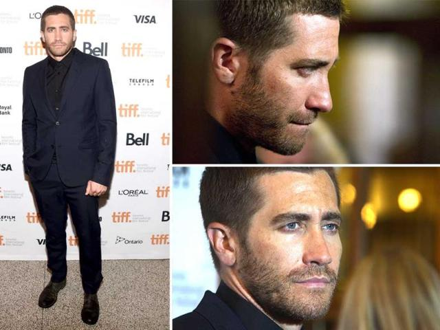 Actor-Jake-Gyllenhaal-attends-the-Nightcrawler-premiere-during-the-2014-Toronto-International-Film-Festival-at-The-Elgin-on-September-5-2014-in-Toronto-Canada---AFP