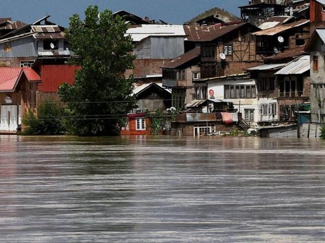 Flood situation,worsen,Srinagar