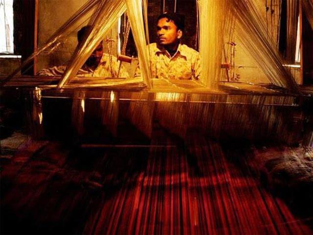 Chanderi-weaver