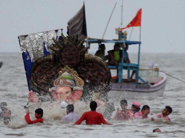 Ganesh immersion,Ganesh idols,Ganesh festival