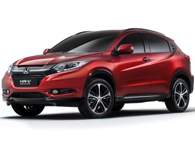 Honda HR-V crossover,First look at Honda's new crossover concept,HR-V concept