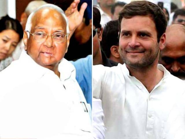 A-combo-pic-of-NCP-president-Sharad-Pawar-and-Congress-vice-president-Rahul-Gandhi-HT-photo