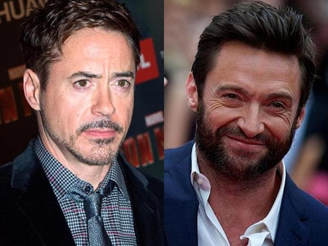 Robert Downey Jr,Hugh Jackman,star wars