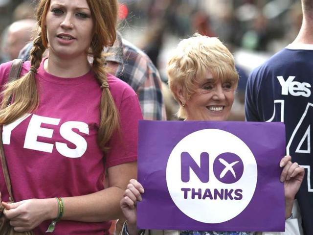 Scotland's independence referendum,British Union,Union jack