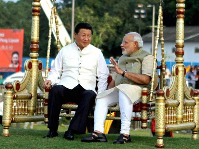 Narendra-Modi-and-Xi-Jinping-sit-on-a-traditional-swing-on-the-Sabarmati-River-front-in-Ahmedabad-during-the-Chinese-president-s-India-visit-in-September-last-year-PTI-Photo