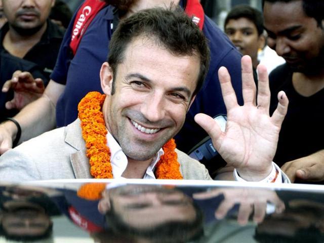 Alessandro Del Piero,Indian Super League,ISL