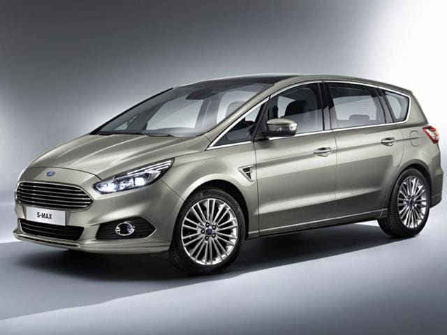 new Ford S-Max,ford,Paris Motor Show