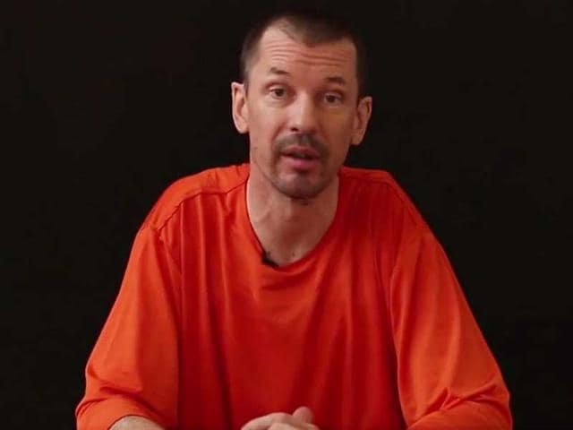Islamic State of Iraq and Syria,John Cantlie,Sunday times newspaper