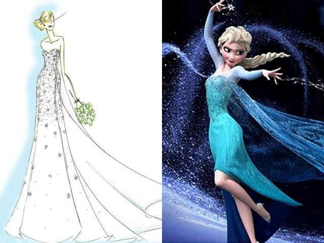 elsa,frozen,ice blue dress