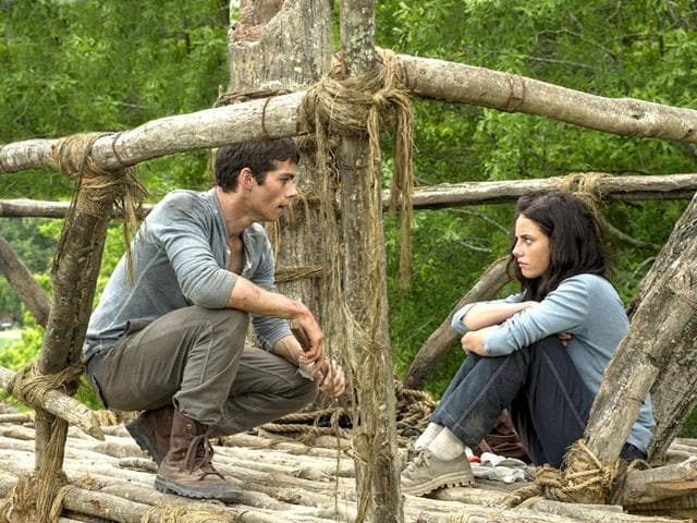 movie review,The Maze Runner,Dylan O'Brien