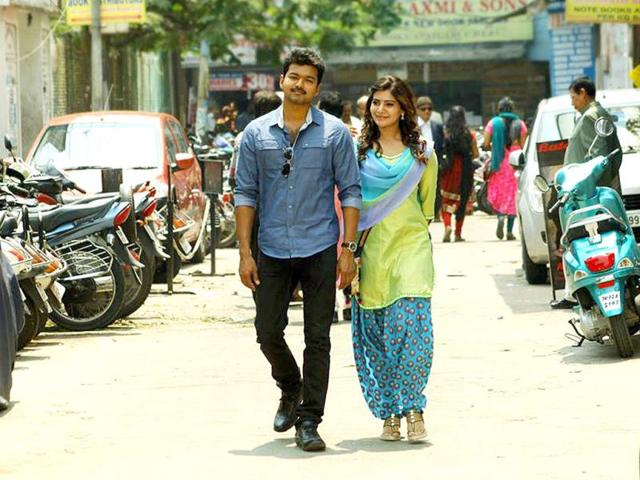 As per random media reports, Vijay will be seen in a double role in Kaththi. (Kaththimovie/Facebook)
