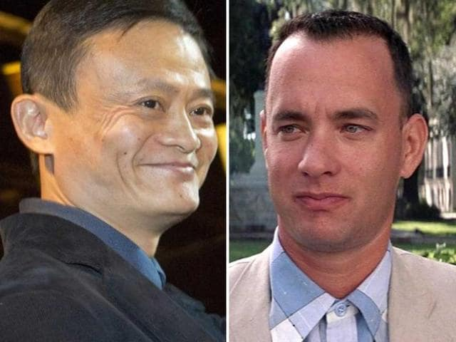 Alibaba's Ma rides 'Forrest Gump' story to riches | business