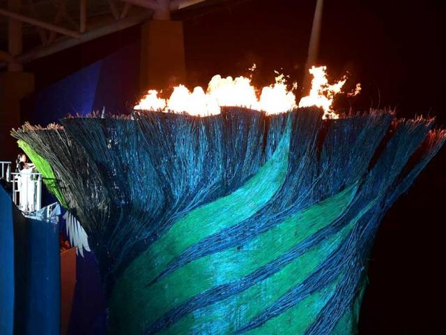 The-flame-is-lit-during-the-opening-ceremony-of-the-2014-Asian-Games-at-the-Incheon-Asiad-Main-Stadium-in-Incheon-South-Korea-AFP-Photo