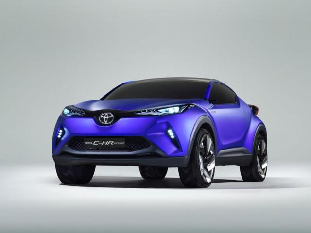 Toyota C-HR,Toyota hints at baby SUV with latest concept car,C-HR
